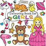 Colouring Book for Girls: Ages 3-6
