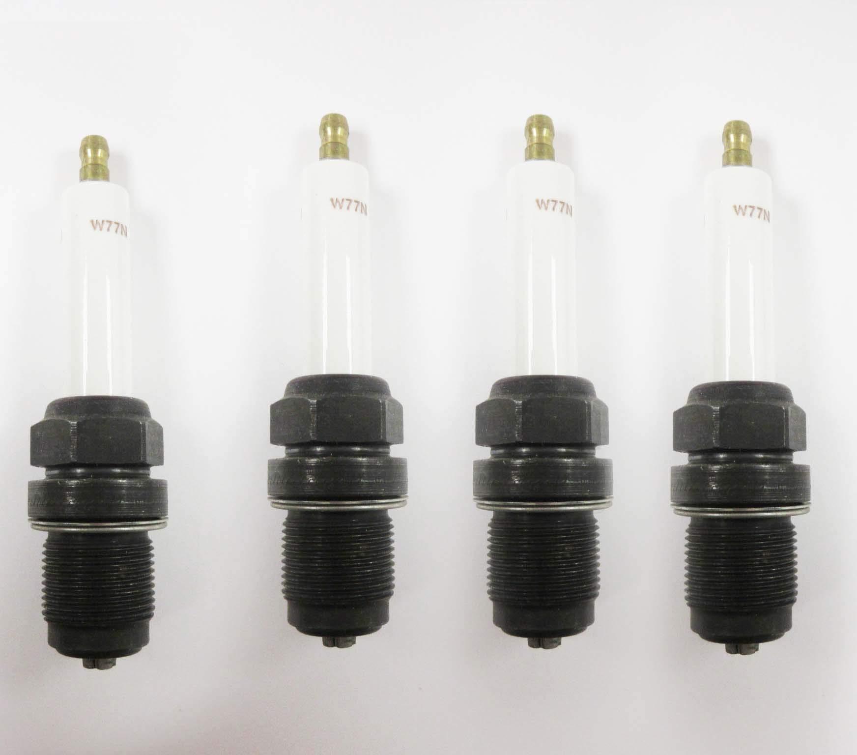 Champion 201 W77N Industrial Spark Plug Pack of 4