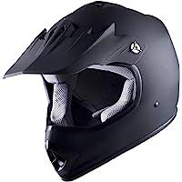 WOW Youth Kids Motocross BMX MX ATV Dirt Bike Helmet Spider Black photo