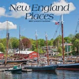 New England Places 2019 7 x 7 Inch Monthly Mini Wall Calendar, USA United States of America Scenic Nature (Multilingual Edition)