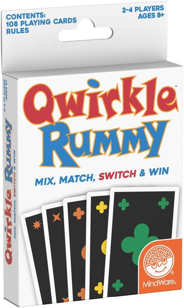 MindWare Qwirkle Rummy , color/modelo surtido: Amazon.es: Juguetes y juegos