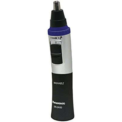 Panasonic ER-GN30-K Nose Ear & Hair Trimmer, Wet/Dry