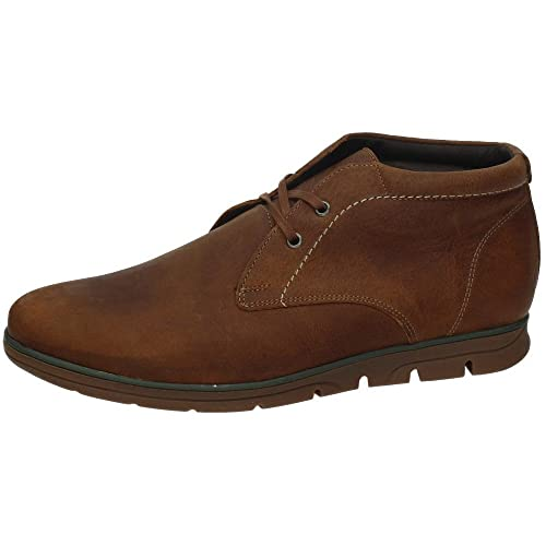 RIVERTY 307 Botin DE Piel Hombre Botas-Botines Cuero 43: Amazon.es: Zapatos y complementos