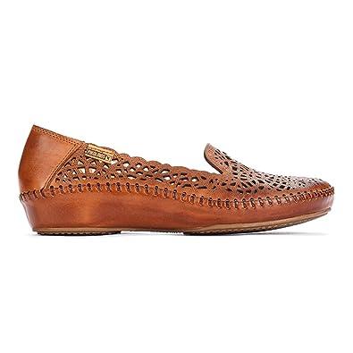 Pikolinos 655-3630 Brandy - Mocasines de Piel Lisa para Mujer, Color marrón, Talla 40 EU: Amazon.es: Zapatos y complementos