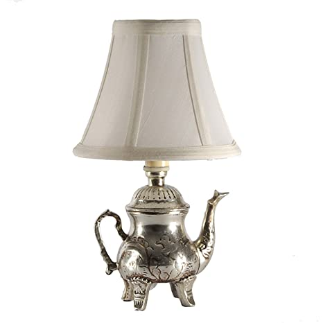 teapot s etna shade bronze p lamp ebay with brushed vintage