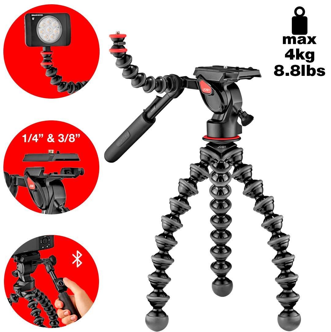 Joby JB01561-BWW Gorillapod 5K Video Pro, Black by JOBY
