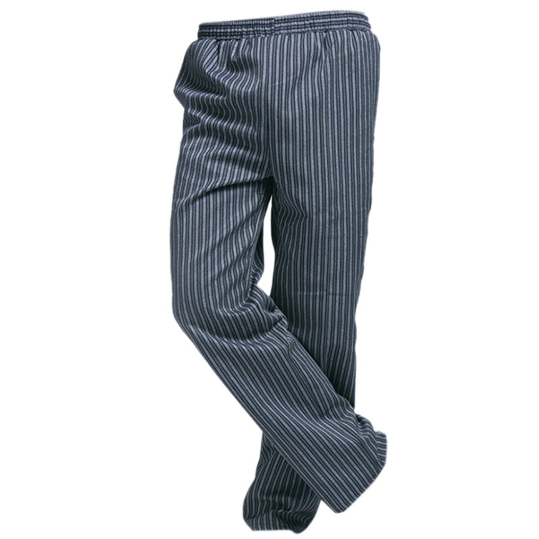 Freahap Baggy Chef Pants Stripe for Men Women Hengfey UC0009/HFCA