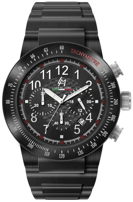 Linea Militare   -Armbanduhr     Edelstahl beschichtet LM-ECHO-1A