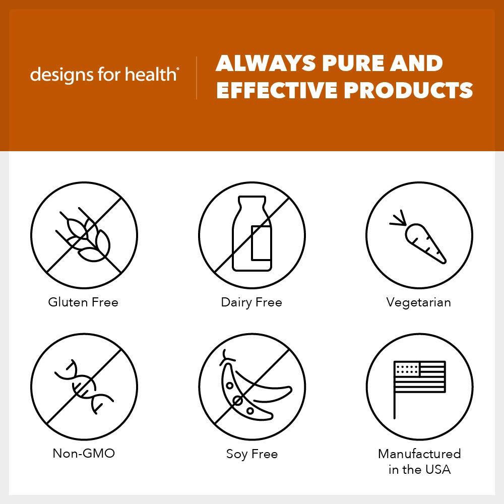 Designs for Health - Monolaurin-Avail - 1000mg Glycerol Monolaurate + Vitamin C Immune Support, 60 Servings by designs for health (Image #3)