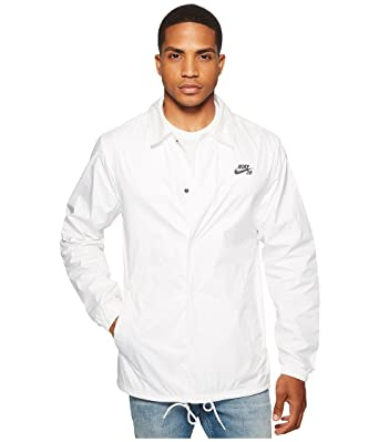 affd73e60207 Nike SB Shield  Coach Jacket. White Anthracite.  Amazon.co.uk  Sports    Outdoors