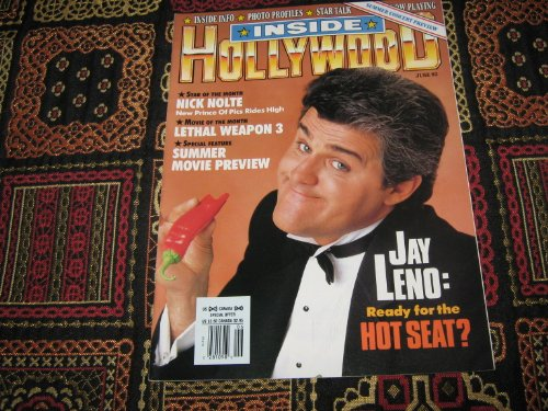 Inside Hollywood Magazine (Jay Leno , Nick Nolte , Summer Concert Preview , Lethal Weapon 3, Volume 2 Number 3)