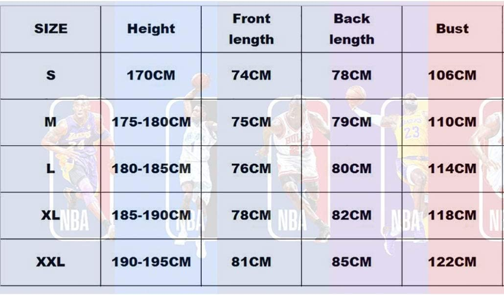 Size : L Mens Basketball Jersey #27 Jamal Murray NBA Denver Nuggets Unisex Youth Sleeveless Tops Outdoor Sports Competition Suits