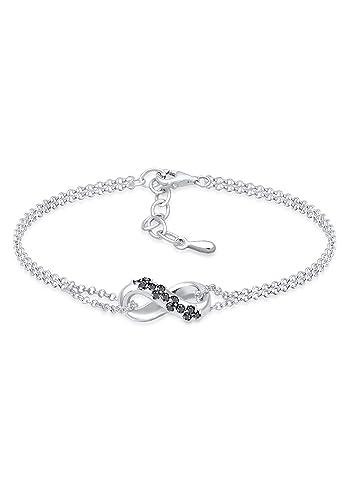 8b0be27b8a80c Diamore Women's 925 Sterling Silver Link Bracelet 0211271617_16 ...