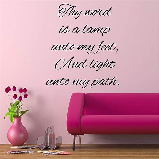 pegatinas de pared tortugas ninja Tu palabra es una lámpara ...