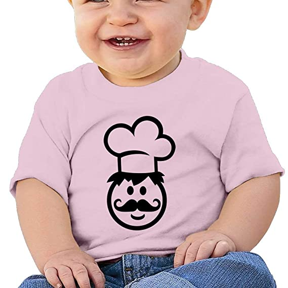 Moniery Short-Sleeve T-Shirts Super Cute Face Baby Girls Infant