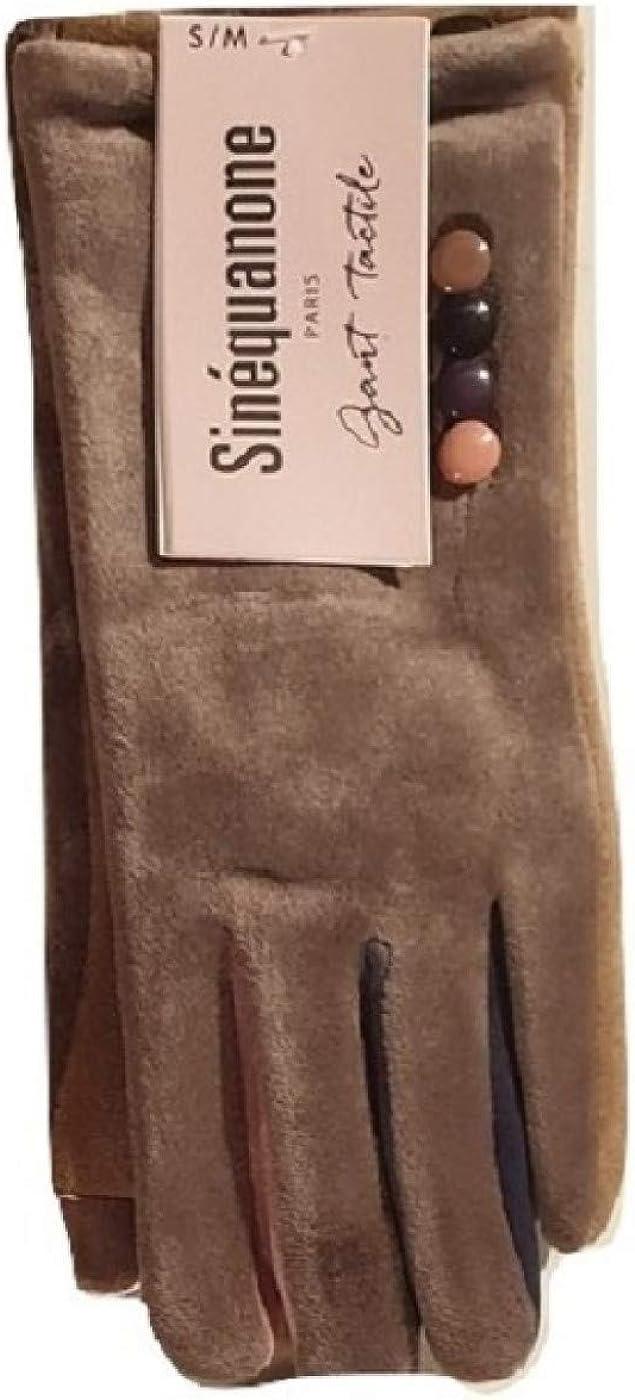 Sin/équanone Paris gant femme Tactile