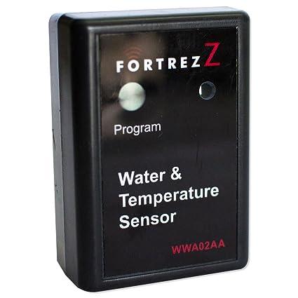 Inalámbrico de agua y Sensor de temperatura