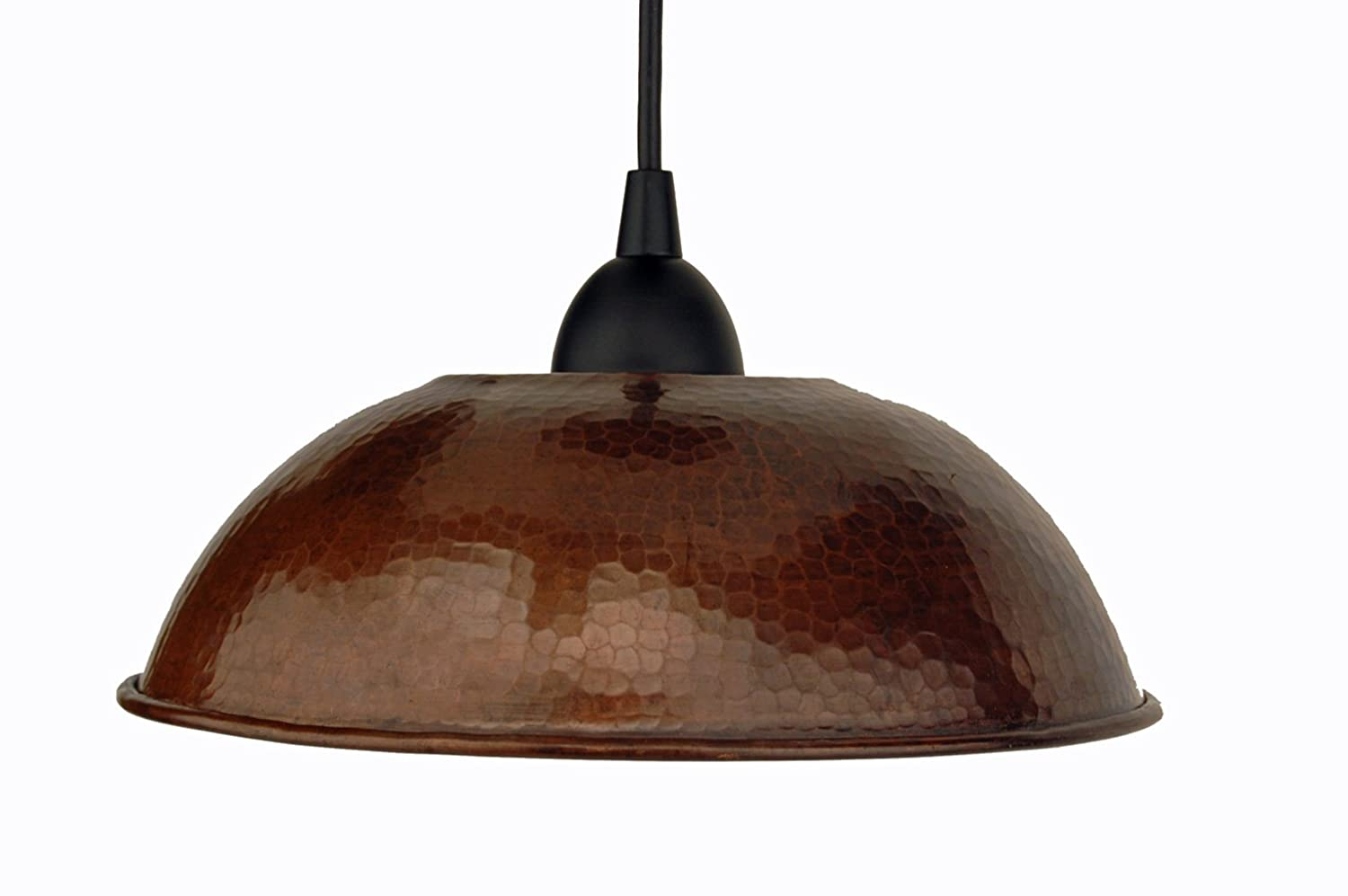 Premier copper products l100db 10 12 inch hand hammered copper dome premier copper products l100db 10 12 inch hand hammered copper dome pendant light oil rubbed bronze ceiling pendant fixtures amazon audiocablefo