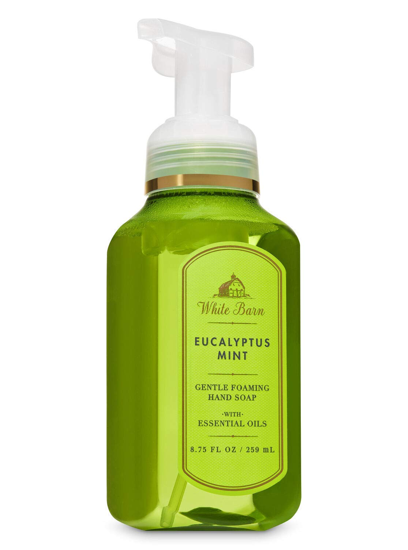 White Barn Eucalyptus Mint Gentle Foaming Hand Soap New Packaging