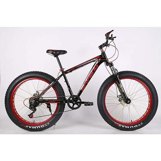 VANYA Bicicleta de montaña 26 Pulgadas Velocidad Off-Road Playa ...