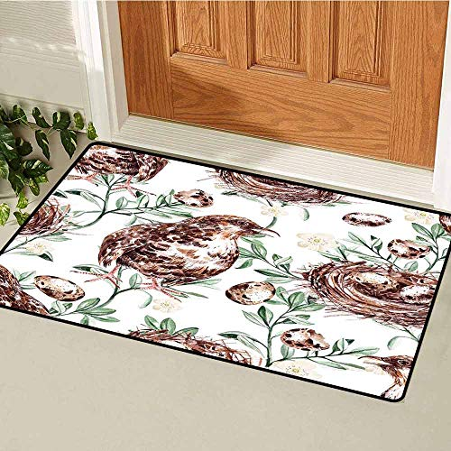 - GloriaJohnson Man Cave Decor Welcome Door mat Craft Beer Wild Moose Pub Classic Antelope Deer Head with Antlers Label Door mat is odorless and Durable W23.6 x L35.4 Inch Black and White