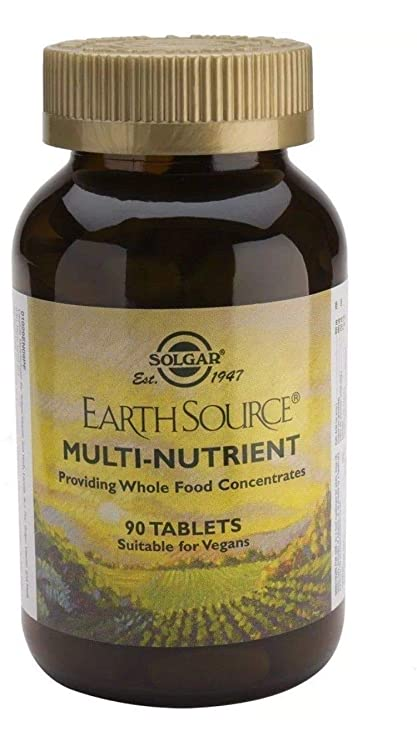Solgar Earth Source Multinutriente Comprimidos - Envase de 60