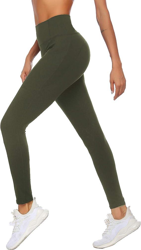 Ekouaer Womens Yoga Running Pants Tummy Control Workout Gym Bootcut Sweatpants
