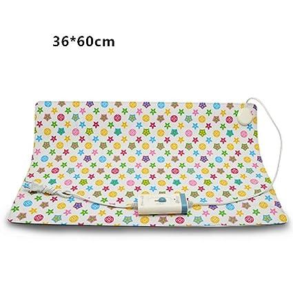 xueyan& Manta de perro manta eléctrica para mascotas almohadilla de calefacción para mascotas cachorro eléctrico impermeable