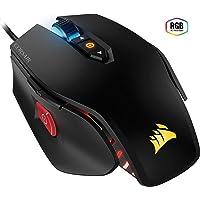 Corsair- Mouse M65 Pro con USB óptico,  color Negro