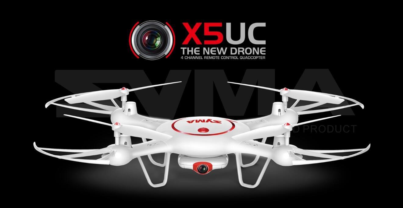 Syma X5UC Drone 2.4G Gyro de 6 ejes RC Quadcopter aviones con ...
