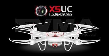 Syma X5UC Drone 2.4G Gyro de 6 ejes RC Quadcopter aviones ...