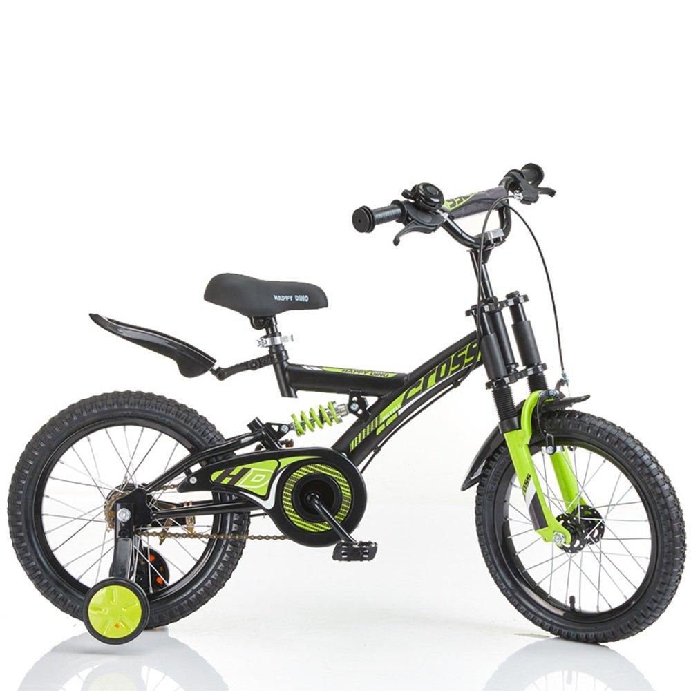 ダンピング子供用自転車、男の子用ベビーカー、自転車、マウンテンバイク ( 色 : 緑 , サイズ さいず : 100*52*70cm ) B078L268FY緑 100*52*70cm