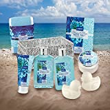 Home Spa Gift Basket in Heavenly Ocean Bliss