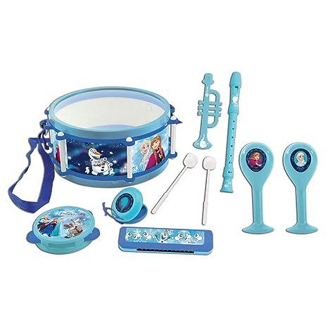 Disney Frozen-Conjunto Musical 7 Instrumentos en 1, Juguete Infantil a Partir de 3
