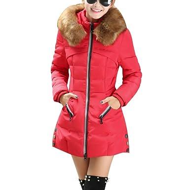 finest selection dcd0e 90d5a Winterjacke Parka Damen Frauen Mantel Wintermantel Warm Lang ...
