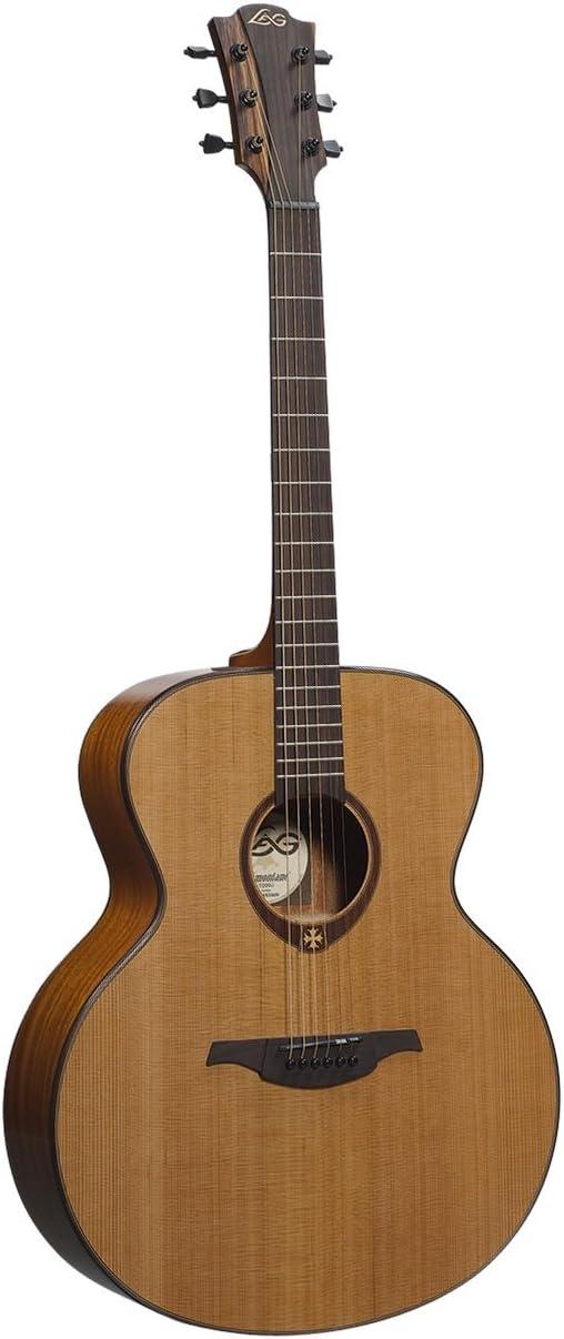 GUITARRA ACUSTICA LAG JUMBO: Amazon.es: Instrumentos musicales