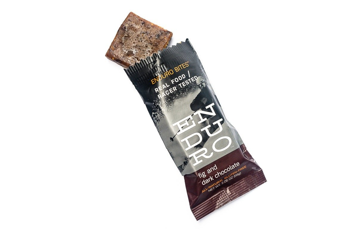 Enduro Bites Fig & Dark Chocolate Real Food Energy Bar 10-Pack (Dairy Free, Gluten Free, Non GMO) by Enduro Bites