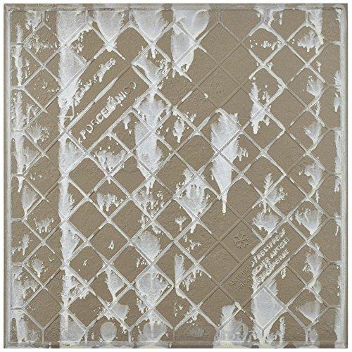 "SomerTile FGFRUSCO Rusticas Porcelain Floor and Wall Tile, 13"" x 13"", Brown/Orange"