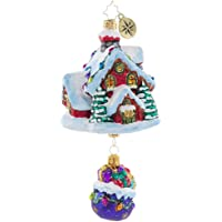 Christopher Radko Hand-Crafted European Glass Christmas Decorative Figural Ornament, Up, Up and Away!