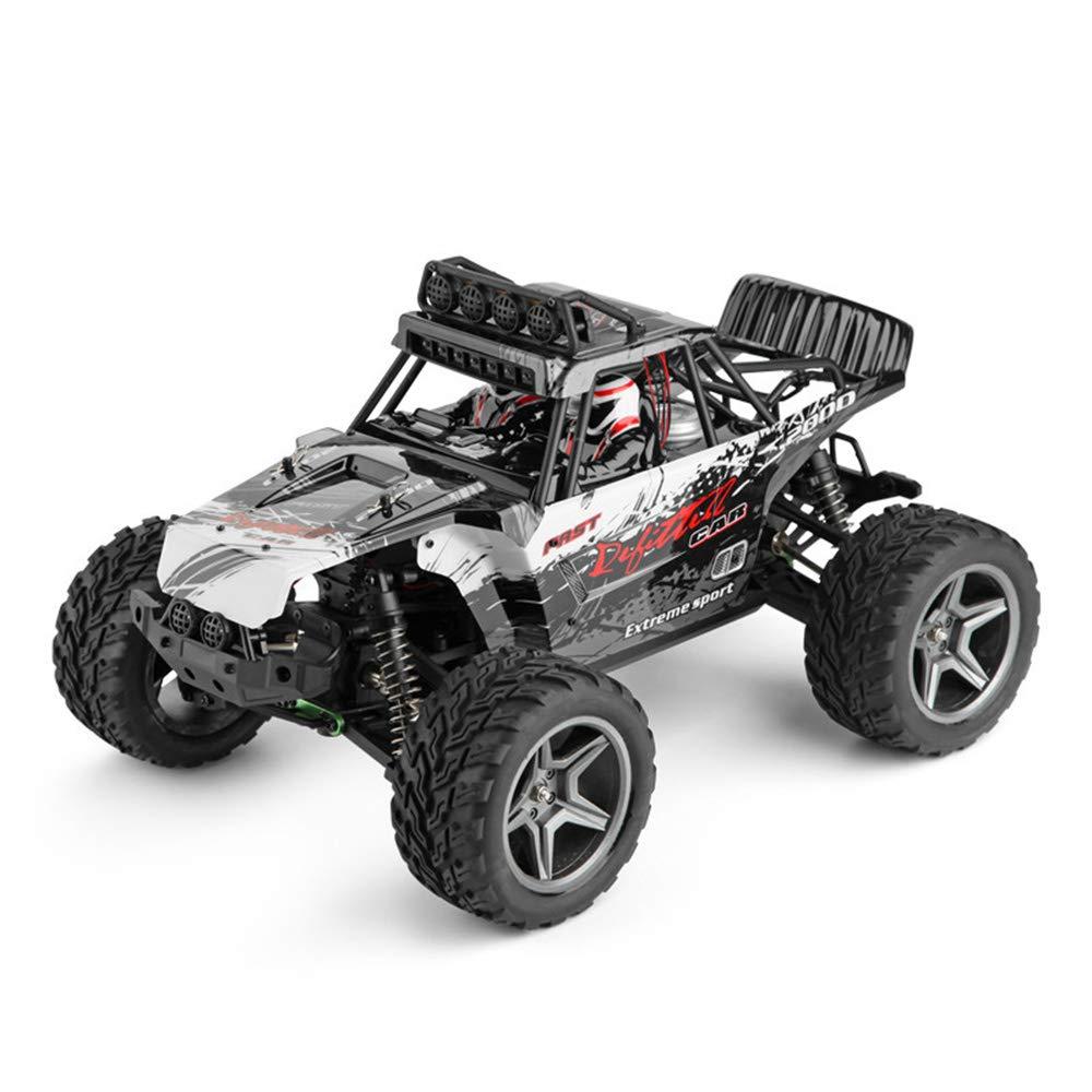 XWEM Fernbedienung, Hochgeschwindigkeits-Klettern Geländewagen 2.4Ghz mit LED-Licht Fernbedienung, 1:12 4WD Funksteuerung elektrisch mit leichtem Geländewagen