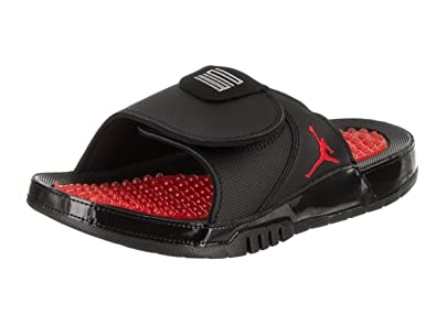 1835dda1c9c Jordan Men Jordan Hydro XI Retro Slide (Black/University red-University red)
