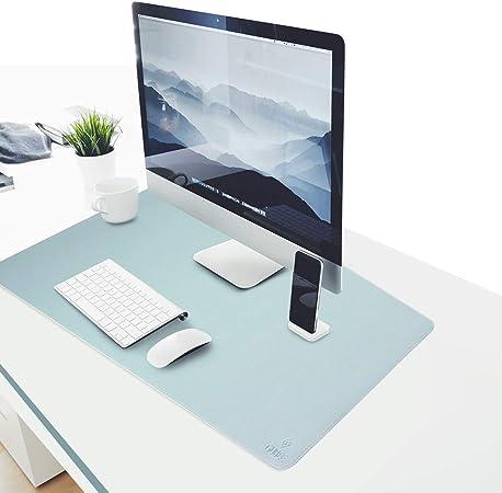 Gubee Pu Leder Multifunktionsbüro Schreibtischunterlage Computer Zubehör