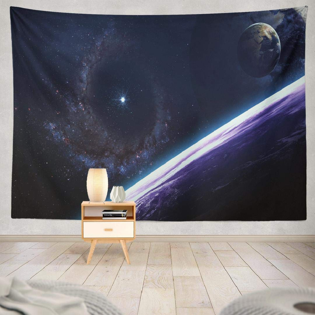 Amazoncom Kumain Outer Space Planets Tapestry Earth