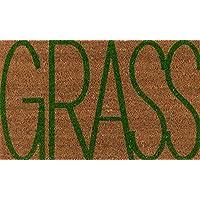 Novogratz ALOHAALO17NAT1626 Aloha Collection Grass Door Mat, 16 x 26, Natural