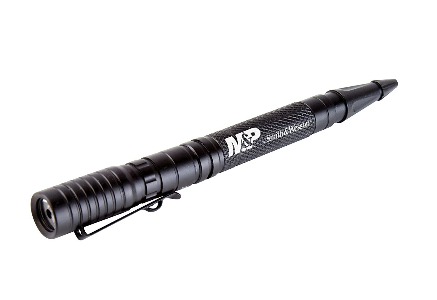 Smith Wesson M P Delta Force PL 10 Aircraft Aluminum Tactical Pen with 105 Lumens Flashlight for Self Defense Outdoor Camping and Everyday Carry