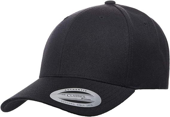 FLEXFIT Par YUPOONG Unisexe Premium Velours Côtelé Flat Peak Snapback Casquette De Baseball