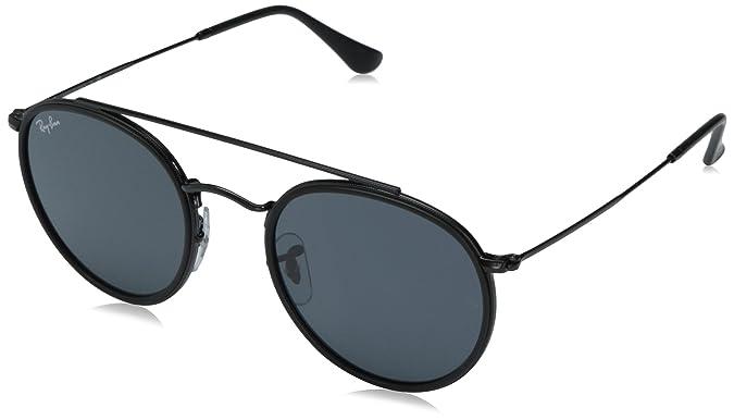 Ray-Ban RB3647N Round Double Bridge Sunglasses