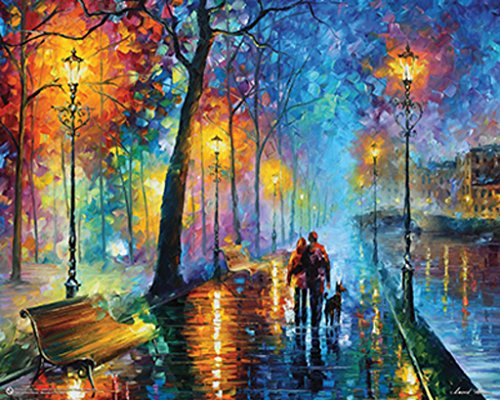 (Melody of the Night by Leonid Afremov Art Print Poster 20x16 )