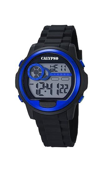 Calypso Watches Reloj Digital para Unisex de Cuarzo con Correa en Caucho K5667_3: Amazon.es: Relojes