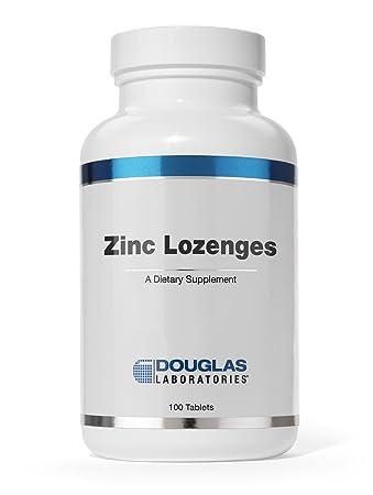 Amazon Com Douglas Laboratories Zinc Lozenges Zinc Citrate